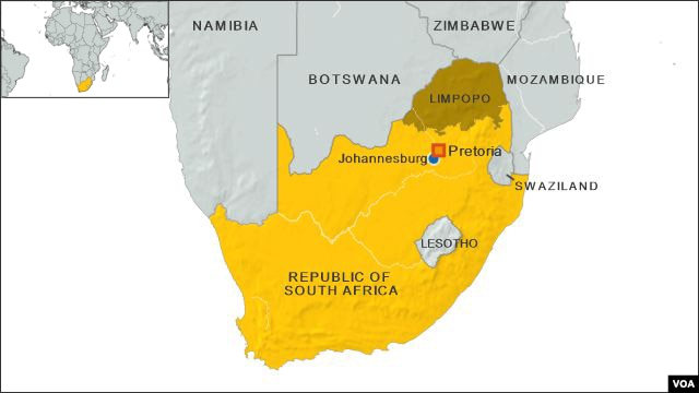 Limpopo province of South Africa