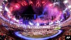 런던 올림픽 개막식 장면