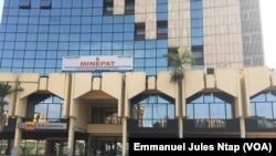 Le ministère de l'économie de la planification et de l'aménagement du territoire, à Yaoundé, Cameroun, le 29 juillet 2019. (VOA/Emmanuel Jules Ntap)