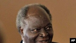The President of Kenya Mwai Kibaki, 26 Jul 2010.