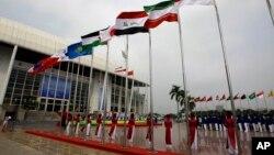 Stadion nasional My Dinh yang rencananya menjadi tempat pembukaan Asian Games di Hanoi 2019 (foto: dok).