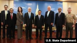 US Senior Officials in Laos
