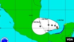 Tropical storm Nate, Gulf of México, Sep 09, 2011