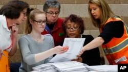 El recuento en Michigan duró tres días y se realizó en más de 20 de los 83 condados del estado.