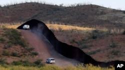 Patrullaje en la frontera con México.