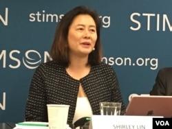美国维吉尼亚州大学、香港中文大学教授林夏如(美国之音钟辰芳拍摄)