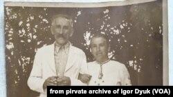 Микола та Марія Дюк, с. Унів. Фото з родинного архіву