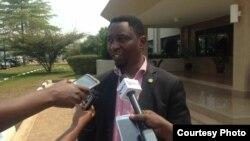 Frank Habineza ni umukandida w'Ishyaka Green Party