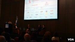 En total, 43 organizaciones de la sociedad civil participaron en el encuentro.