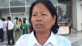 Son Thann, 58, and now lives in Kandal province was also forced to marry one of the Khmer Rouge soldiers.