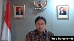 Ketua Satgas PEN Budi Gunadi Sadikin dalam telekonferensi pers di Jakarta, Rabu (30/9) yakin stimulus yang digelontorkan pemerintah akan selamatkan perekonomian Indonesia (Screenshot/Setpres RI)