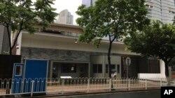 2018年6月7日,廣州的美國領事館。