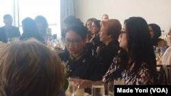 Acara penghargaan Agen Perubahan UN Woman kepada Menteri Luar Negeri Retno Marsudi