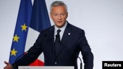 Menteri Keuangan Perancis, Bruno Le Maire