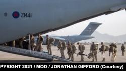 امریکايي عسکر له افغانستان څخه ووت