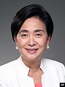 民主党副主席,立法会议员刘慧卿