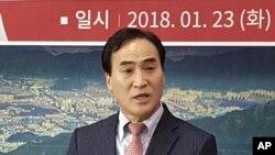 លោក Kim Jong Yang នៃប្រទេសកូរ៉េខាងត្បូង ដែលត្រូវបានតែងតាំងជានាយកថ្មីអង្គការប៉ូលិសឧក្រិដ្ឋកម្មអន្តរជាតិ Interpol។