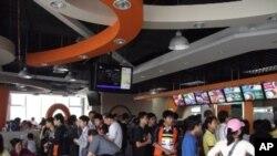 上海世博的台資豆漿店每天顧客約3000人次