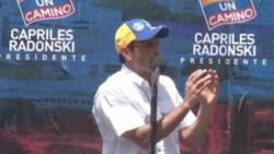 Campañas electorales – Chavez Capriles
