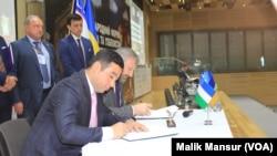 Kiyevda o'tgan O'zbekiston-Ukraina iqtisodiy forumi