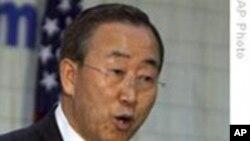 联合国秘书长呼吁北韩重启核谈判
