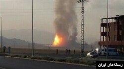 این چندمین بار است که که در خط گازی ایران به ترکیه در ترکیه انفجاری رخ می دهد.
