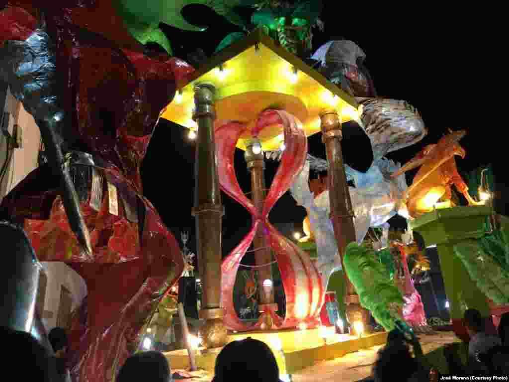 Carnaval de São Nicolau, Cabo Verde. Fev. 26, 2017