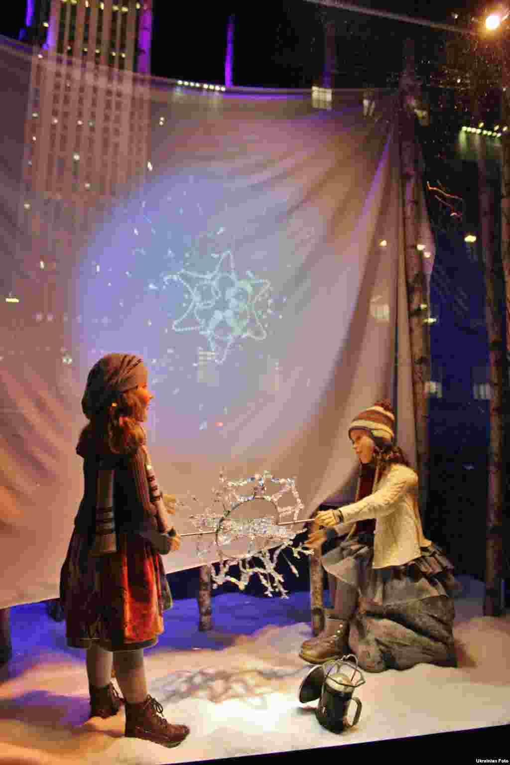 Різдвяні вітрини Нью-Йорка
