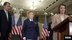 Nancy Pelosi volvió a la posición que ocupó durante cuatro años desde 2002.