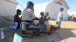 Vítimas do ciclone Idai protestam contra atraso de subsídios na Beira