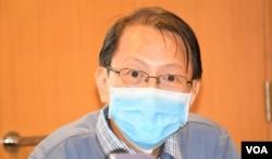 香港浸會大學傳理學院新聞系前助理教授杜耀明(美國之音湯惠芸攝)