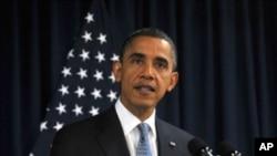 奥巴马总统在里斯本北约峰会上