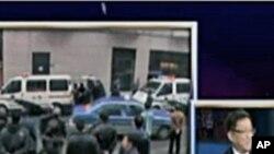 美国之音《焦点对话》节目视频截图