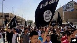 İŞİD tərəfdarları Mosulda.