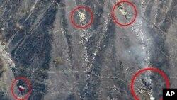 德國之翼4U9525客機墜毀機地點