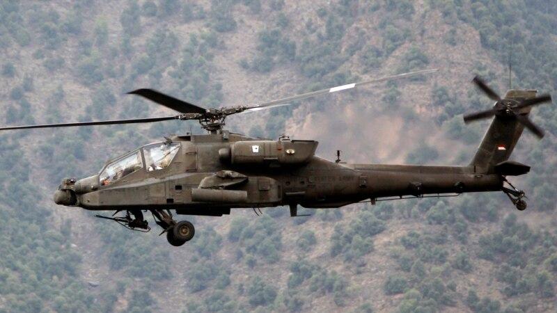 امریکی فوج کا لڑاکا ہیلی کاپٹر گر کر تباہ، دو اہلکار ہلاک