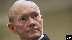 奧巴馬政府提名鄧普西將軍為下一任美軍參謀長聯席會議主席﹐他在星期二出席一個聽證會上警告德黑蘭政府不要低估美國。