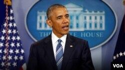 在英國通過全民公投決定脫離歐盟之後,美國總統奧巴馬發表聲明,表示尊重英國人民的決定。