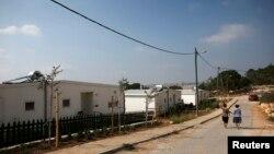 """Khu định cư """"Gevaot""""của người Do Thái gần Bethlehem, ngày 31 tháng 8, 2014."""