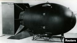 ناگاساکی پر گرایا جانے والا ایٹم بم یٹ مین' : فائل ٖفوٹو