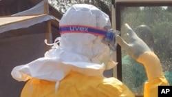 Likitoci suna kokarin shan kan bazuwar Ebola.