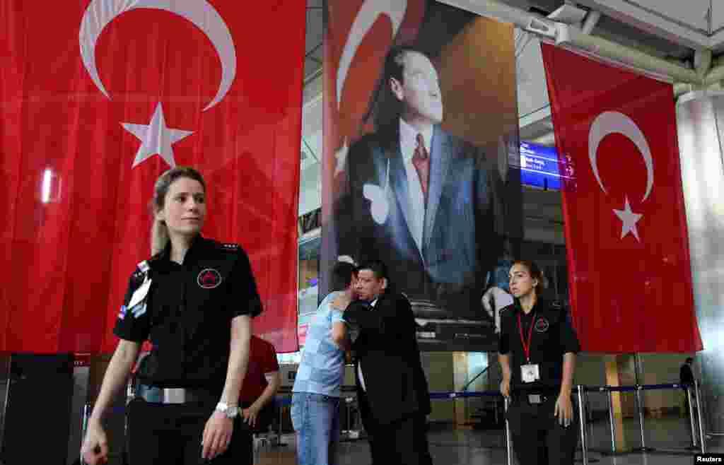 استنبول کا کمال اتاترک ایئرپورٹ یورپ کا مصروف ترین ہوائی اڈہ ہے۔