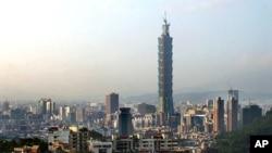 台北的地標性建築101大樓