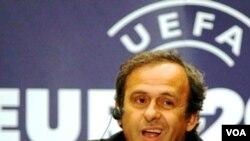 Presiden UEFA, Michel Platini
