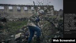 Dağlıq Qarabağdan görüntülər (Foto - Sergey Ponomarev for The New York Times)