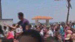 ادامه تظاهرات مردم مصر در اعتراض به حکم دادگاه در مورد حسنی مبارک