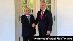 رابرت اوبرایان، مشاور امنیت ملی ایالات متحده آمریکا و همتای اسرائیلی او