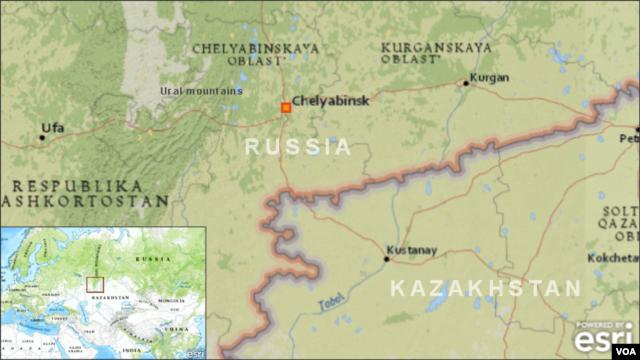 Chelyabinsk, Russia meteor blast