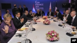 프랑스에서 열린 G-20 정상회의