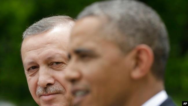 Cumhurbaşkanı Erdoğan ve eski ABD Başkanı Obama